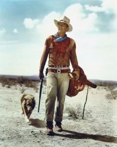 John Wayne i boots