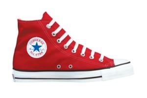 Röda Converse