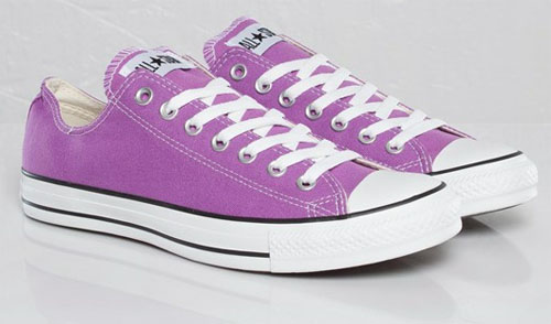 Lila Converse All star Ox