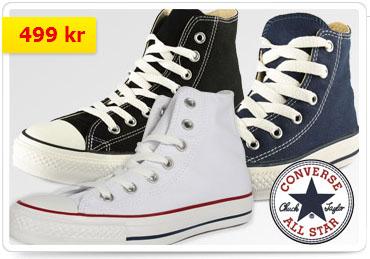 Billiga Converse-skor hos CDON, endast 499 kr