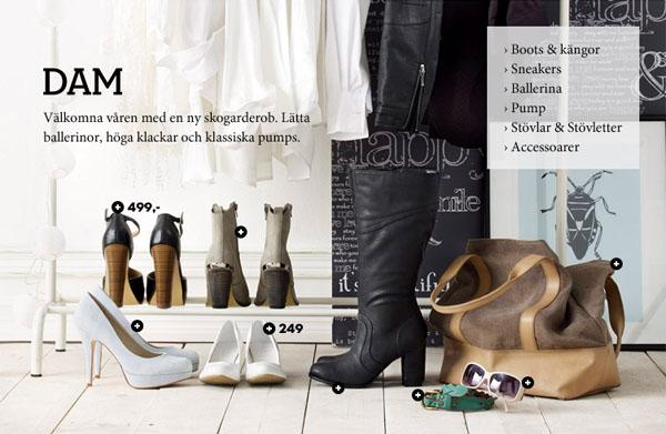 Inspiration från Ellos till deras 50% rabatt på dyraste paret skor med rabattkod