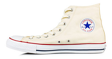 Converse All star canvas Hi beige