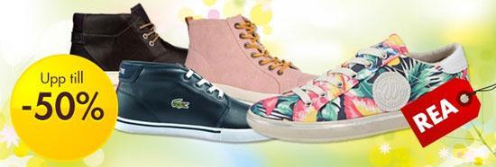 Upp till 50% rabatt på skor hos CDON