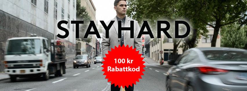 100 kr rabatt hos Stayard med rabattkod